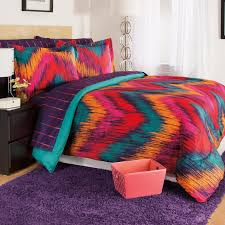 Tie Dye Bed Set Josh Posh Kidz Chevron Tie Dye Berry 3 Comforter Set