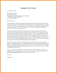 Cover Letter Sample Cover Letter 9 Consulting Cover Letter Examples Offecial Letter