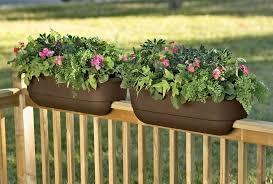 24 beautiful adjustable railing planters u2013 into the glass