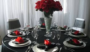 red and white table decorations for a wedding black white and red table decorations table designs