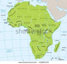 vector map map vector of africa