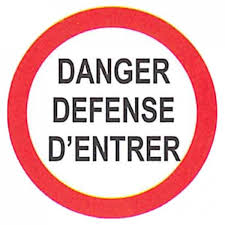 pictogramme chambre pictogramme danger defense d entrer