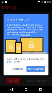 smart lock android smart lock now acts as a password manager using your