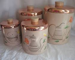 kitchen canister sets vintage 379 best canisters images on kitchen canisters
