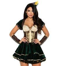 Xl Womens Halloween Costumes Robin Hood Costume Xl Women Cosplay Halloween Green Dress