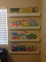Vinyl Rain Gutter Bookshelves - 40 best rain gutter shelves images on pinterest rain gutter