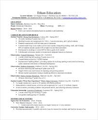 First Year University Student Resume Sample by Sample Resume 34 Documents In Pdf Word