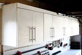 how to hang a cabinet to the wall how to build a diy wall mounted garage cabinets thediyplan