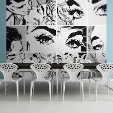pop art graffiti plasticbanners com pb3 a pop shades art wall mural
