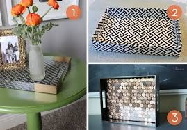 diy tray roundup 10 easy diy serving tray projects curbly