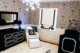 chambre noir blanc chambre blanc et noir chambre noir blanc baroque enfant chambre noir