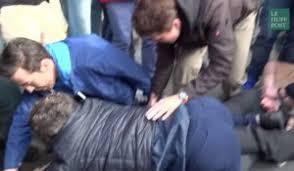 au bureau henin beaumont hénin beaumont manifestation contre le fn en vidéos sur actu