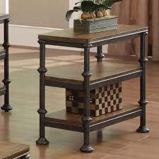 Chair Side Tables With Storage Furniture Chairside Table With Decoration And Wooden Floor