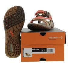 merrell azura strap womens brown walking sports sandals shoes size