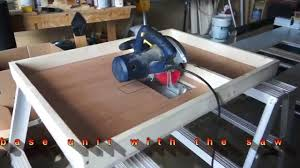 Circular Saw To Table Saw Conversion By C U Jmy Youtube
