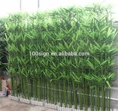 pe plastic fabric iron material and artificial trees plant type