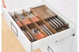 range couverts tiroir cuisine range couverts en bois pour tiroirs tandembox accessoires cuisines