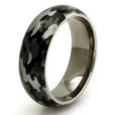 camo mens wedding bands mossy oak titanium s camouflage duck blind wedding band free