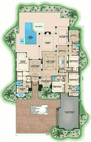 house plans with courtyard pools florida house plans with courtyard pool on stilts style pools home