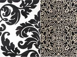 Black And White Rugs Reader U0027s Request U2013 Black And White Area Rug Design Notations