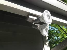 Led Outdoor Spot Lighting by Outdoor Floodlights For Home Security Ideas 4 Homes
