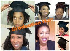 nursing graduation hairstyles with cap top ways to slay in your graduation cap with natural hair hair