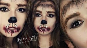 Werewolf Halloween Makeup by Werewolf Make Up I Halloween 2014 Youtube