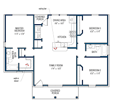 Floor Plans For Large Families by Henderson Tilson Homes