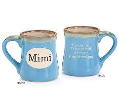 amazon com 1 x mimi handpainted porcelain 18 oz coffee mug