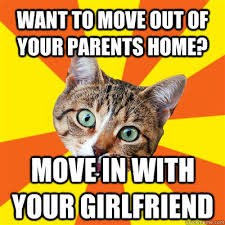 Moving Out Meme - want to move out of your parents home cat meme cat planet cat