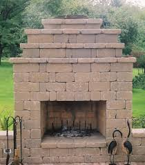Outdoor Fireplace by Outdoor Fireplaces Projects Hedberg Landscape And Masonry