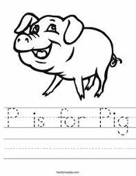 outline pig vector illustration stock vector image 68330851