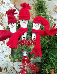 make the best of things popsicle stick snowmen fast and easy