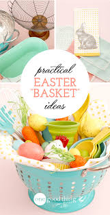baskets for easter practical easter basket ideas one thing by jillee