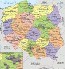 Map Poland Large Detailed Political And Administrative Map Of Poland Poland
