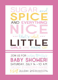 sugar and spice baby shower invitations theruntime com