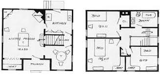 floor plans for small cottages two cheap cottages