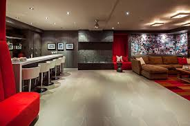 beautiful basement ideas for family lovely room with decorating