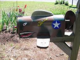 curtiss p 40 flying tiger mailbox locks ct themed