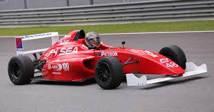 porsche petron driving a formula 4 sea race car fuelled by petron