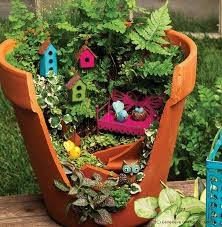 broken pots turned into brilliant diy fairy gardens bored panda