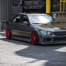 toyota altezza jdm wallpaper as200 height is300 face wheels xe10 black rs200