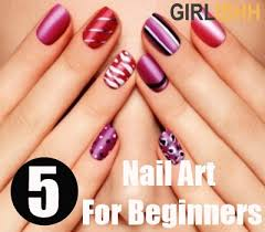 simple and quick nail art for beginners best nail art ideas for