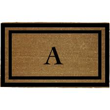 Coir And Rubber Doormat Captivating Coir Doormat For Floor Accessories Ideas Rubber And