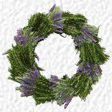 herb wreath bouquet wreaths
