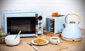 3 Piece Kitchen Appliance Set by Swan Three Piece Kitchen Set Groupon Goods