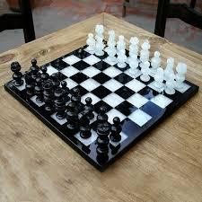 classic handmade onyx marble decorative chess set mexico free