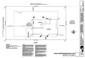 house site plan house plans home garage floor blueprints westhome architecture