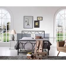 homesullivan calabria white twin bed frame 40e411bt 1wbed the