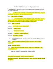 chapter 2 study guide answer key of mice and men chapter 2